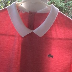 Lacoste beautiful pink top